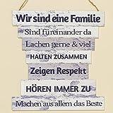 Schild Family H32cm Material: MDF