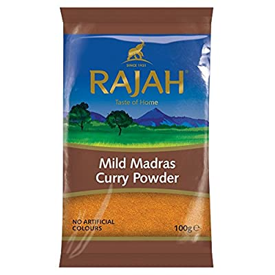 Rajah Mild Madras Curry Powder, 100 g by Rajah