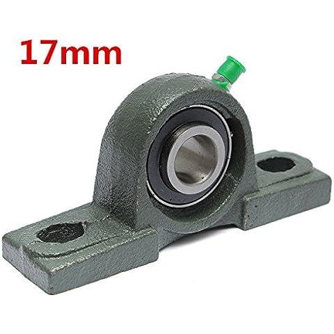 Calli 17mm diámetro almohada bloque de aleación de zinc diámetro de la bola montada teniendo ucp203