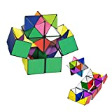 TheMax® Kids Magic Star Infinite 3D Cube Game Puzzle Twist Toy Party Travel Child Creative Decompression Magic Box Puzz