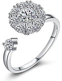 6abe74c07eff Amazon.es  anillo de la suerte - Mujer  Joyería