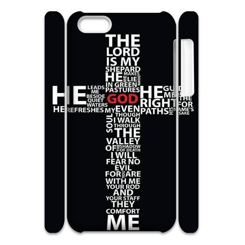 LP-LG Phone Case Of Jesus Christ Cross For Iphone 4/4s [Pattern-6] Pattern-1