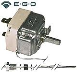 EGO Thermostat 55.19243.010 passend für Küppersbusch, Eloma, Palux max. Temperatur 250°C 1-polig Fühler ø 3,1mm x 226mm 16A 1CO