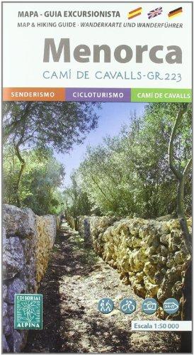 Menorca Senderista (Mapa Y Guia Excursionista)