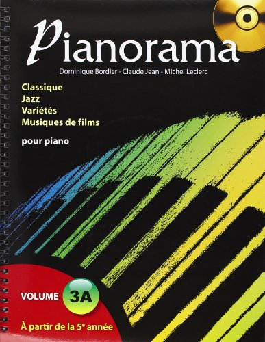 Pianorama vol 3a (+CD) - piano