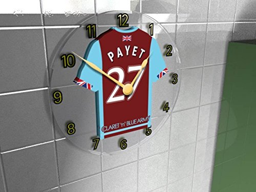 west-ham-united-fc-football-club-shirt-wall-clock-any-name-any-number-free-personalisation