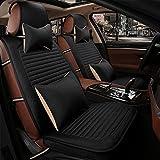 SP Autositzkissen Sitzkissen Leinen Stoffe Für Universal Alle Jahre General Motors, schwarz