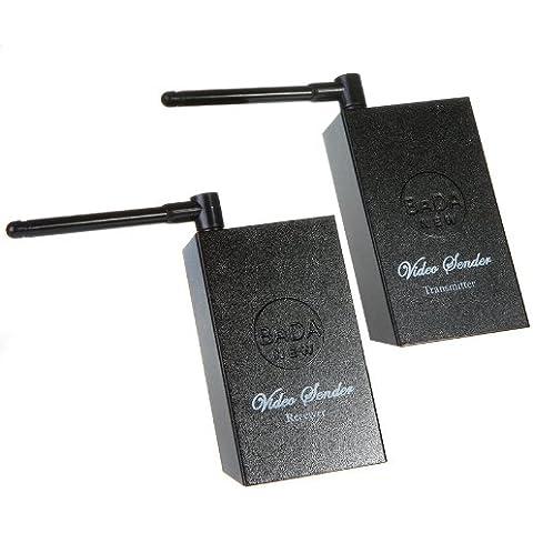 Andoer 2,4 GHz de Audio y vídeo inalámbrico con transmisor y receptor