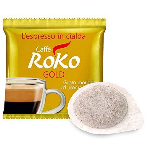 50 CIALDE CAFFE' ROKO GOLD, GUSTO MORBIDO ED AROMA INTENSO