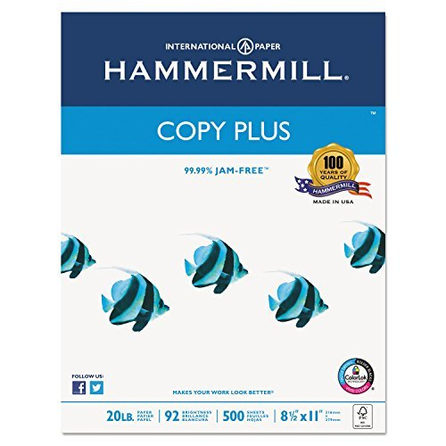 Hammermill Copy Paper, Bright White by Hammermill