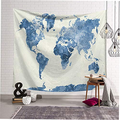 WEINANA Nordic ins Style Unique Printing Wall Hanging Blanket Tapestry Home Background Decoration for Home Decor Starry Sky Map - Sky Home Decor