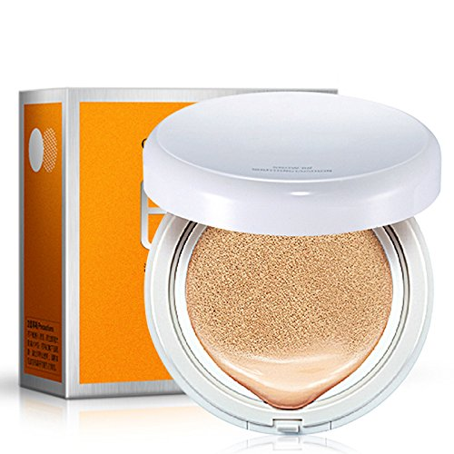 Natural : New Brand Make Up Air Cushion BB Cream SPF50+ Concealer Moisturizing Foundation Makeup Bare Strong Whitening Face Beauty Makeup