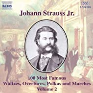 Strauss II, J.: 100 Most Famous Works, Vol. 2