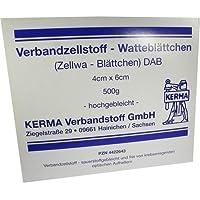 VERBANDZELLSTOFF WATTEBLÄTTCHEN hochgebl.4x6 cm 500 g preisvergleich bei billige-tabletten.eu