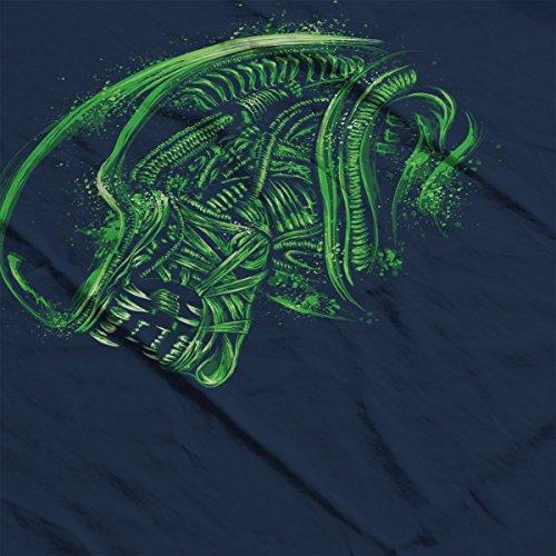 Aliens Space Nightmare Women's Vest Navy blue