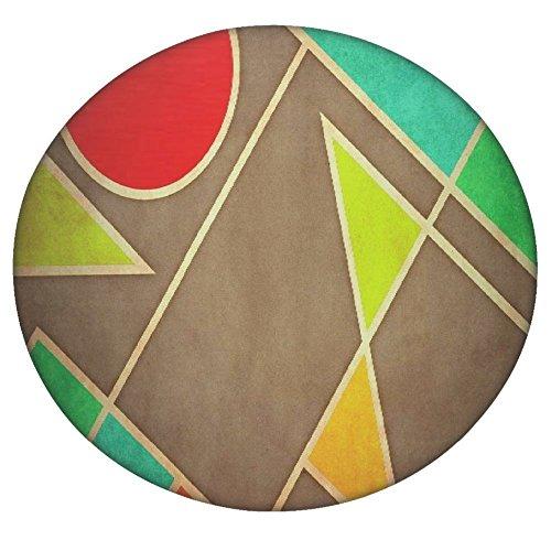 Pastell Geometrische Formen 2677rund Mandala Tapisserie Hippie, Hippie-Stil, Überwurf Betten Tagesdecke, Gypsy, zum Aufhängen Indianer Boho Gypsy Baumwolle Tischdecke Strandtuch, dekorativer Wandschmuck, rund Meditation Yoga Matte, multi, 60 Inches (Dye Pastell-tie)