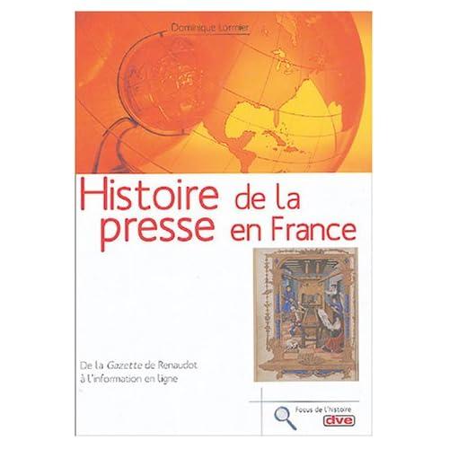 Histoire de la presse en France