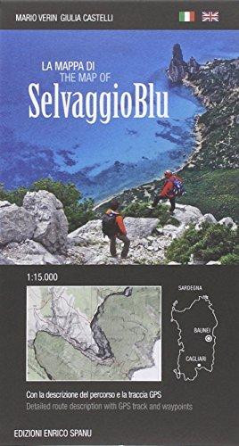 La mappa di Selvaggio Blu 1:15.000 por Mario Verin