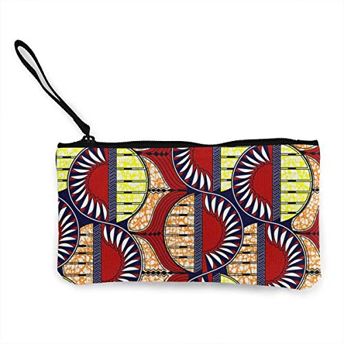 Women's African Pattern Big and Tall Printed Purse Clutch Bag Card Holder (And Womens Tall Big)