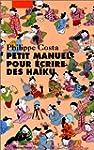 Petit manuel pour �crire des ha�ku