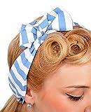Damen Haarband Natalie Sailor Streifen Rockabilly Haartuch Gesamtlänge 108cm / Breite 6cm
