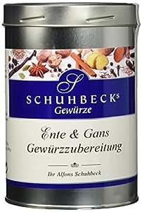 Schuhbeck Schuhbecks Ente und Gans Gewürzzubereitung, 1er Pack (1 x 400 g)