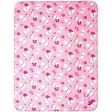 Mee Mee Soft Baby Blanket (Multipurpose, Light Pink - Bunny Print)