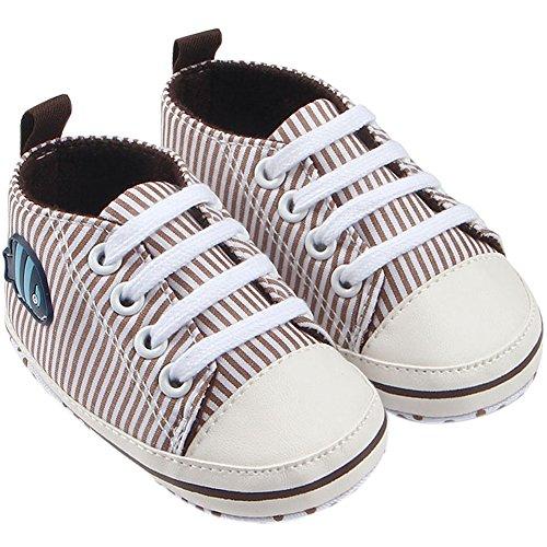 Fire Frog  Baby Sneakers, Baby Jungen Lauflernschuhe Khaki