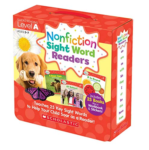 NONFICTION SIGHT WORD READERS PARENT PAC