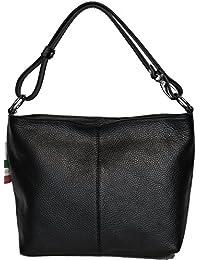 LucieElle Sac Femme CUIR Grainé Italien porté bandoulière porté épaule 'Rafaela' ANCIEN PRIX 80,00 EUR