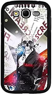 Printvisa Case Cover for Samsung Galaxy Grand Neo (D7660, Boy Cool Skull)