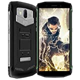 Blackview BV5800 Outdoor Smartphone ohne Vertrag, 5580mAh Batterie 4G Handy IP68 Stoßfest Staubdicht, 5V/2A, 5,5 Zoll Android 8.1, 2 GB+16 GB, 13 MP+8.0MP+0.3MP Kamera NFC Grün