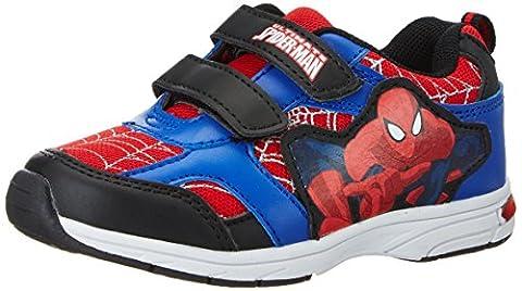 Spiderman Jungen SP003555 Low-Top, Blau (Black/Red/L.C.Blue 663), 26 EU
