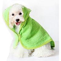 FLAMEER Serviette De Bain Quick-Dry pour Chien Cat Dog Sweat à Capuche en  Coton f6a6c5a77af