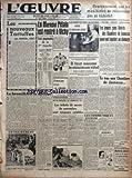 Telecharger Livres OEUVRE L No 9249 du 15 02 1941 LES NOUVEAUX TARTUFFES PAR MARCEL DEAT LE BROUILLARD SE DISSIPE ENTRAINEMENT LE MARECHAL PETAIN EST RENTRE A VICHY LE PREFET DE LA SEINE GOUTE LE BOUILLON CHAUD LA QUESTION DES SALAIRES IL FAUT LE MINIMUM VITAL PAR ALBERT PERROT AVIS AUX DROGUISTES AUX HERBORISTES ETC LES TICKETS DE SAVON DE NOVEMBRE SONT TOUJOURS VALABLES PAR M L L OEUVRE OBTIENT SATISFACTION LES JEUNES GENS LIBERES DES CHANTIERS DE JEUNESSE POURRONT TOUCHER AU CHOMAGE (PDF,EPUB,MOBI) gratuits en Francaise