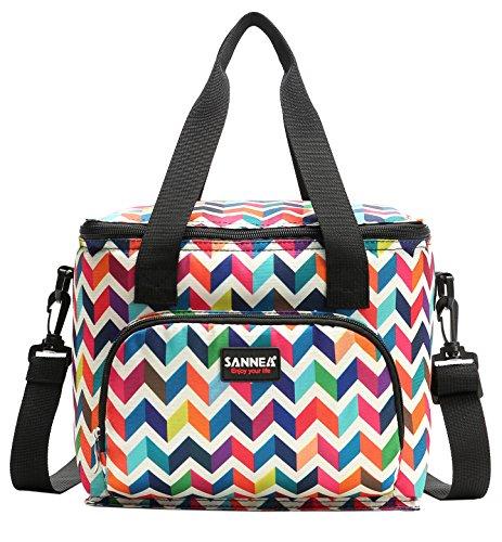 Yvonnelee 10L Nevera portátil Bolsa para el Almuerzo Lunch Bag para Guardar...