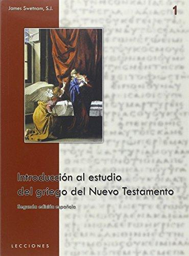 Introducción al estudio del griego del Nuevo Testamento