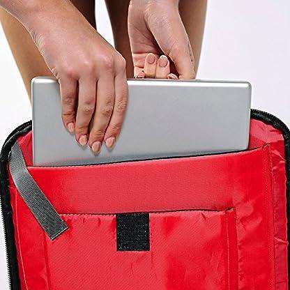 51QWbPQ2B9L. SS416  - Perth 45x35x20cm Anti-Theft mochila y bolsa de viaje de viaje