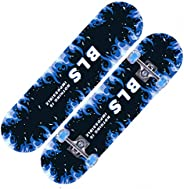 Kids Skateboard LED Fashion 4 Wheel for 5-16 Years Old