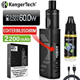 E Zigarette Starter Set Kangertech 60W 2200mAh Subox Mini V2 OLED Screen Verdampfer