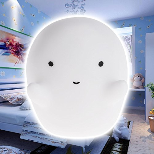 Ghost LED Night Light Lamp Tricky Toy Halloween Decoration Children Kids Gifts
