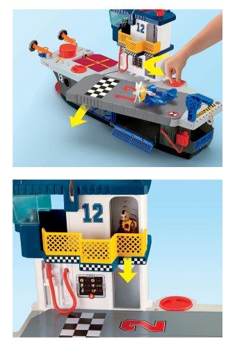 Imagen 4 de Fisher-Price - Imaginext - Portaaviones Héroes del Aire (Mattel)