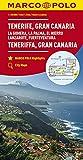MARCO POLO Karte Teneriffa, Gran Canaria 1:150 000: La Gomera, La Palma, El Hierro, Lanzarote, Fuerteventura (MARCO POLO Karten 1:200.000) - Collectif
