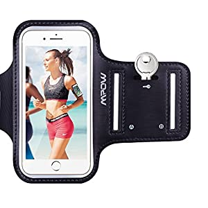 iPhone 6 / 6s Armband, Mpow Sweatproof Sports Running Armband (with Reflective Strap + Key Holder) Compatible with iPhone 6 / 6s (4.7 inch) for Jogging, Gym, Cycling, Biking, Hiking, Horseback Riding