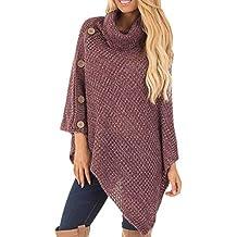 Cebbay Haut Femme T Shirt Chemisier et Blouse Pull,Casual Veste Floral Sweatshirt Chic Outwear Irrégulier Coat Mode Pullover,Automne Hiver Manteau Robe Vetement Top
