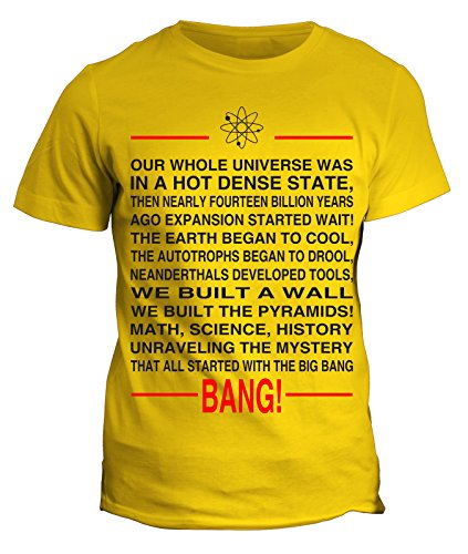 Tshirt The big bang theory - sheldon - atomo- sigla canzone musica - serie tv - in cotone by Fashwork