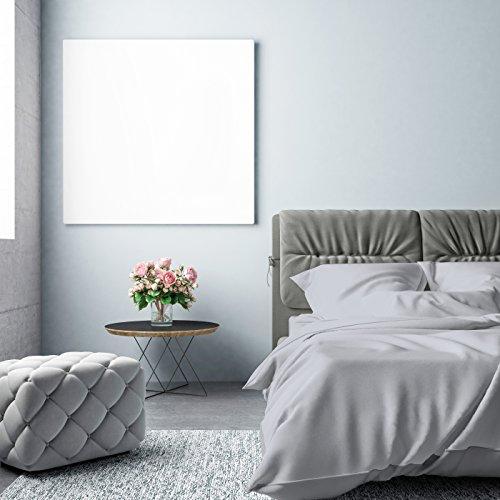 Pinguin Home Fadenzahl 500100% Größe Bettbezug-Set mit 2Kissenbezügen 260x 220cm, Baumwolle, Grau, Betten (Queen Bett Set Mit Bettbezug)