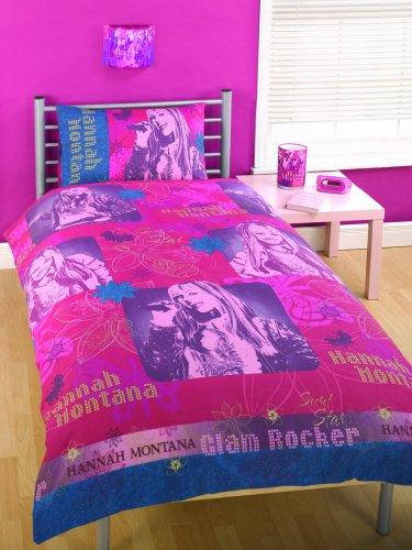 character-world-hannah-montana-golden-glamour-rotary-duvet-set-single