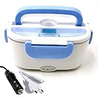 Nifogo 3 en 1 Boite Électrique Lunch Box Chauffante Gamelle Chauffant Boite Repas Alimentaire,Boite Repas,Couvert…