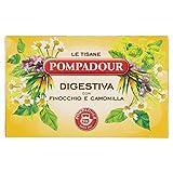 Pompadour le Tisane Digestiva con Camomilla e Finocchio - Pacco da 18 x 2 gr - Totale: 36 gr